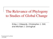 Phylogeny_climate change
