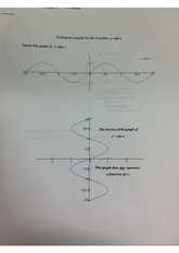 Inverse Graph and Function of Sine