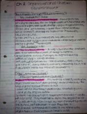 ch 2 outline