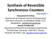 2011-0032-Synthesis-of-Reversible-Synchronous-Counters
