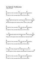 Go+Tell+It+On+The+Mountain+Chords.pdf