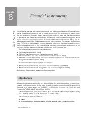 10. Chapter 8 - Financial instruments