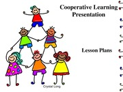 EDU 310 Week 3 Individual Assignment Cooperative Learning Presentation