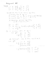 Homework Assignment #4 (solutions)