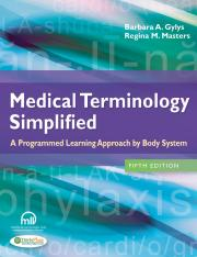 Medical Terminology Simplified - Gylys, Barbara, Masters, Regina.pdf