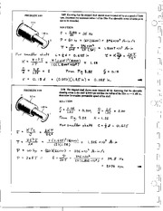 232_Mechanics Homework Mechanics of Materials Solution
