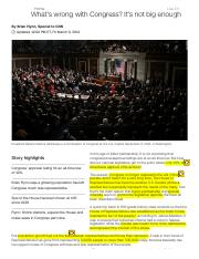 congress article
