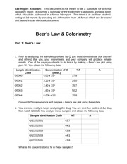 CK-2_Beer's_Law_and_Colorimetry_RPT