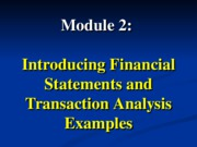 Module 2 examples