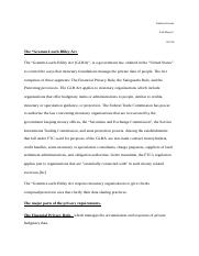 Lab.Report.Greene.Gramm-Leach-Bliley act (1).docx