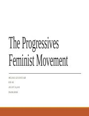 The Progressives  Feminist Movement