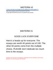 PS 220 first midterm review