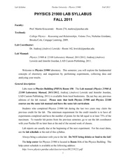 Phys219L_Syllabus_fall2011