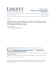 The Journey of Jesus Between His Crucifixion and Subsequent Resur.pdf