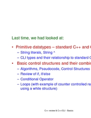 L04 - primitive data and control structures 2