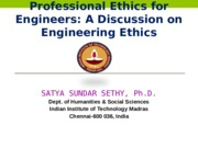 Professional Ethics 2015 (Lecture-1)