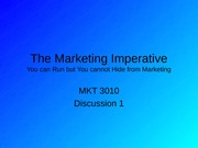 1The Marketing Imperative