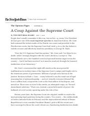 A Coup Against the Supreme Court - The New York Times.pdf