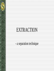 Extraction notes (1)