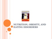 Nutrition,+Obesity,+and+Eating+Disorders