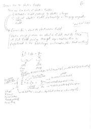 Gauss Law Handwritten Notes