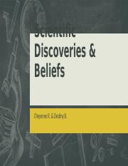 Scientific Discoveries & Beliefs A.pptx