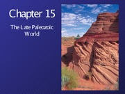 Chapter 15 Late Paleozoic