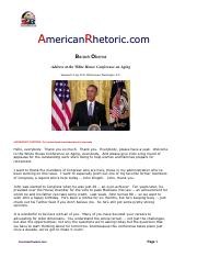 Barack Obama - Aging Conference White House.pdf