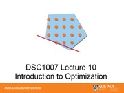 10-Introduction to Discrete Optimization