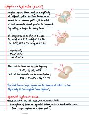 chapter 3 Rigid Bodies {3-17-3.21]