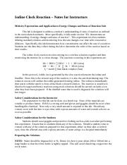 Iodine Clock Reaction - Notes for Teachers (1).docx