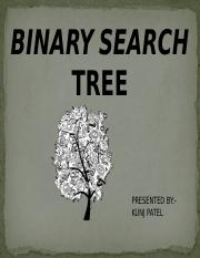 kpatel_binary search tree_122717.pptx