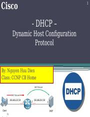 DHCP_Dien_CCNP CB Home