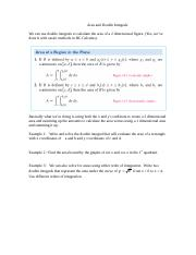 Double Integrals and Area Notes.doc