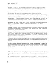 Quiz Criminal_Law_613_Assignment_1_CH