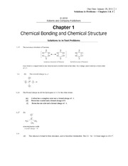 CHEM 236_Spring 2011_Solutions to Assigned Problems_Due Jan 26
