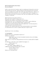 Food Sci Exam 2 Study Guide