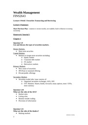 WM Lect 4 Wk 5_Securities Transacting and Borrowing_Jessica