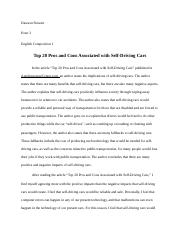 Dawson Stewart Self-Driving Cars Article.docx