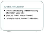 4 Job Analysis