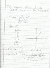 Exponential function class notes