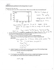 Lab Exam Practice Problems Solutions