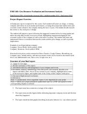 investment project evaluation essay View essay - hsm 340 project evaluation from hsm 340 at devry chicago list the kinds of information needed to evaluate a capital investment project in order to.