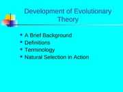 2._Evolutionary_theory