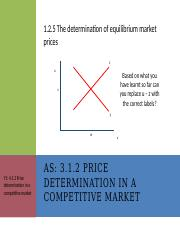 1.2.5 The determination of equilibrium market prices.pptx