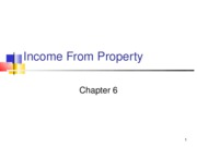 Acc742 Lecture 6 Property Income Fall 2010