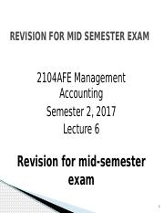 Mgt Acct Revision for mid-semester exam Sem 2 2017.pptx