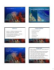 15. Coral reefs 1