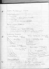 ECON 121 Lecture 4 Notes