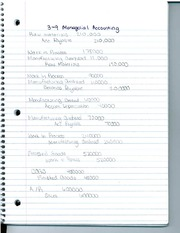 Ch. 3 Cost of Goods Sold for Managerial Accounting by Pride